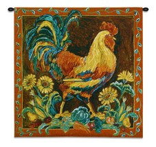 Rooster Rustic Wall Tapestry - £145.35 GBP