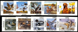New Hampshire State Duck Stamps # 5-14 - VF NH Cat $111.00 - Stuart Katz - $39.95
