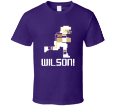 Eric Wilson # 50 Tecmo Bowl Minnesota Football Athlete Fan T Shirt - $20.99+