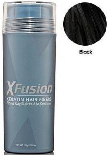 XFusion Keratin Hair Fibers - Black 25 grams