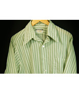 Vtg 1970s Revere Sportswear Cotton Polyester Hippie Shirt Size  L 16-16.5 - $31.96