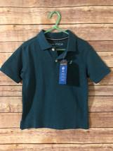 Nautica Boys 4T Button Down Polo Short Sleeves Nwt - $12.60