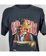 49ers Vintage Gold Miner Mens XL Tee Shirt 1992 Vintage San Francisco SF... - $134.99