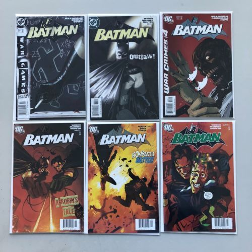 Lot of 13 Batman (1940) from #631-668 Annual #13 15 17 19 25 FN-VF Very Fine