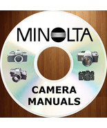 MINOLTA 35 mm Classic 35mm Owners Users Instruction CAMERA Manual MANUAL... - $12.95