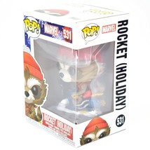 Funko Pop! Marvel Christmas Holiday Rocket Raccoon #531 Vinyl Bobble-Head Figure image 2
