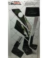 AMR Racing Graphics Decal Wrap Kit Sale For Kawasaki Bayou 250/300 CARBON X - $98.95