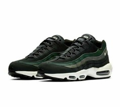 NIKE AIR MAX 95 ESSENTIAL OUTDOOR GREEN SAIL WHITE 749766 304 US MENS SZ 13 - $158.39