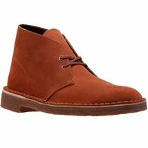 Clarks Originals Desert Boots Men's Mahogany Red Suede 26131990 - $130.00