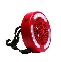 Texsport Mini Camping Fan/Light Combo (Black) - $21.46