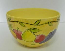 "Sango Sangria 8 1/4"" Medium Nesting Mixing Serving Bowl Yellow Sue Zipkin 3075 - $23.64"