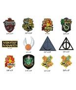 Harry Potter Ravenclaw Gryffindor Slytherin Hufflepuff Hogwarts Iron On ... - $3.88