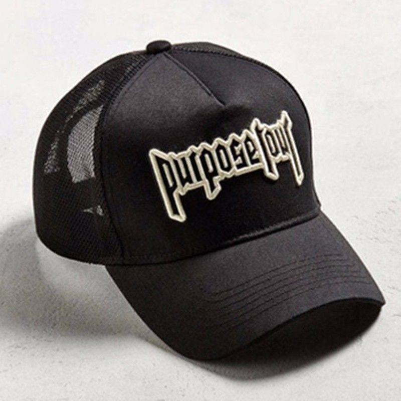8b24464dc9a S l1600. S l1600. Previous. 2017 New Justin Bieber Purpose Tour Trucker Hat  Adjustable Baseball Cap Black