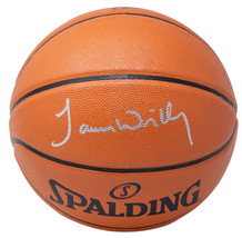 James Worthy Signed Los Angeles Lakers Spalding Rep Basketball JSA ITP - $217.79