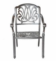 Elisabeth patio dining set 7 piece cast aluminum outdoor furniture table chairs image 3