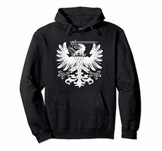 Flag of Prussia Hoodie Prussian German Germany Deutschland - $47.78