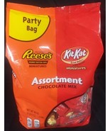 Reese's Peanut Butter Cups Kit Kat Chocolate Candy Mini Assortment 2 Lbs... - $14.73
