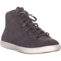Cole Haan Grand Crosscourt High Top Sneakers, Stormcloud Suede, 6 US - $91.19