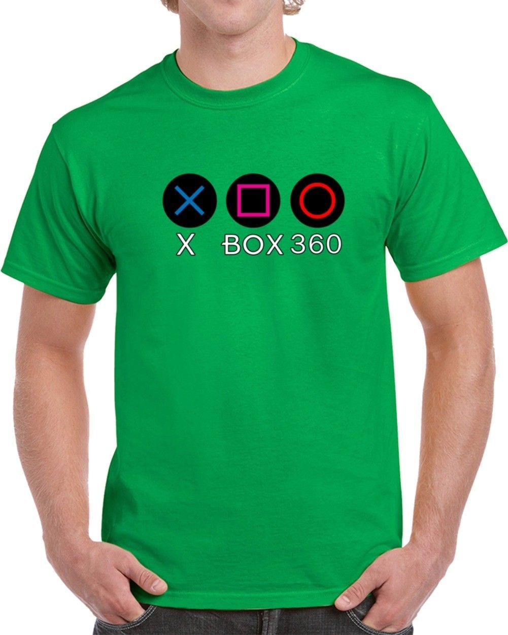 Primary image for X Box 360 Ps Buttons T Shirt