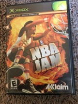 NBA Jam (Microsoft Xbox 360, 2010) Replacement Case And Manual Only - $4.94