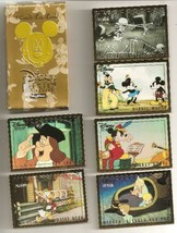 1995 Disney Premium Trading Cards (6);  Mickey Unlimited Skybox - $3.50