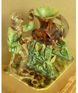 Scarce Majolica Pottery Ceramic Monkey Portuguese Antique by Jose Cunha ... - $995.00