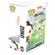 Funko Pop! Animation Avatar The Last Airbender Zuko #538 Action Figure image 3
