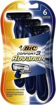 BIC Comfort 3 Advance Men's 3-Blade Disposable Razor 102 total razor lot - $101.58