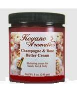 Keyano Aromatics Champagne  Rose Butter Cream  8 oz. - $28.00