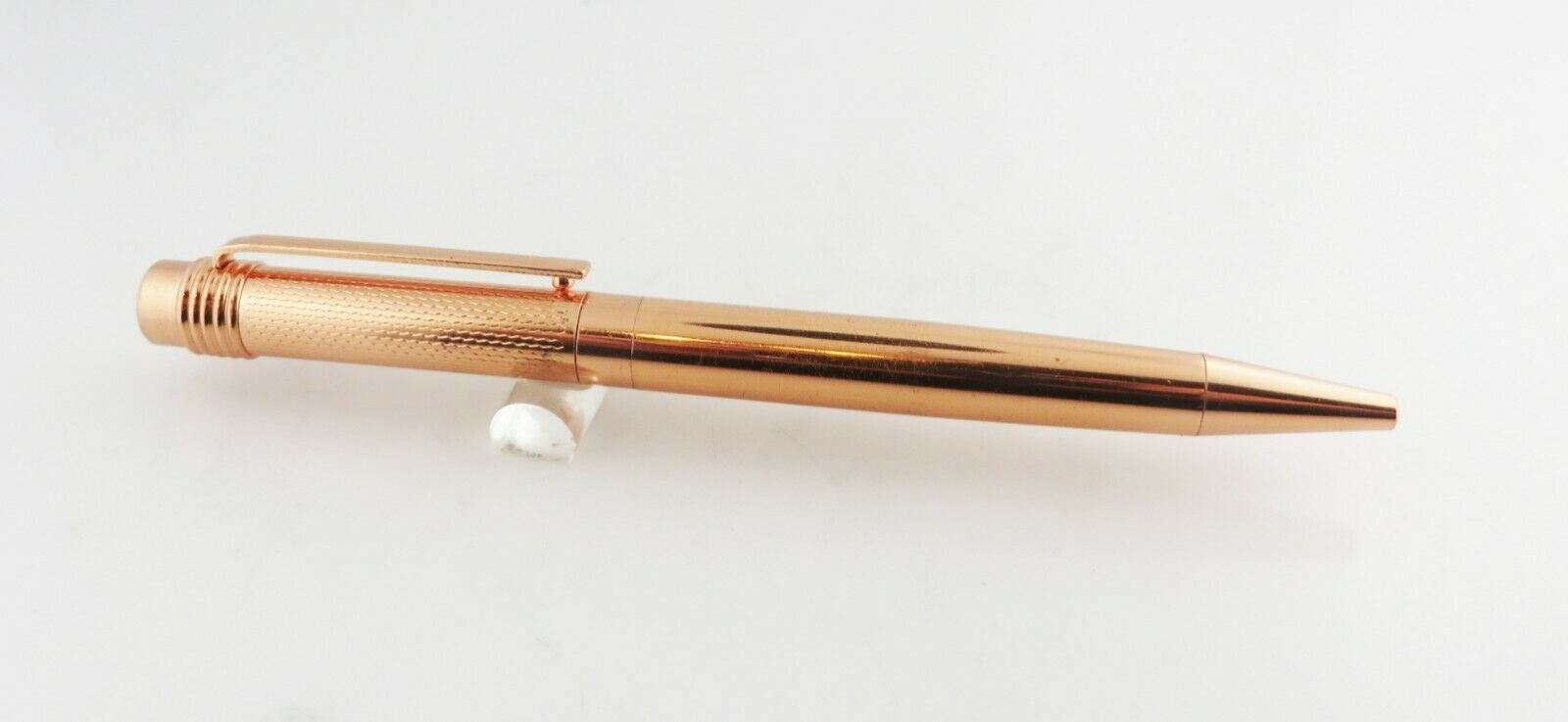 Unbranded Rose Gold Colored Ballpoint Pen  Model Uses Parker Refills New Refill