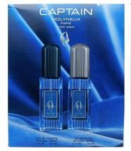 Captain Molyneux Paris For Men Set: Eau De Toilette 2.5 Oz., After Shave... - $16.14