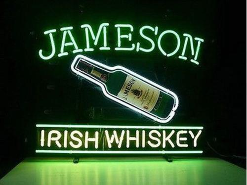 """New Jameson Irish Whiskey Beer Neon Sign 24""""x20"""""""