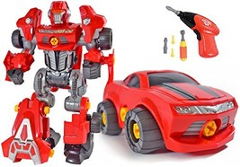 CoolToys Custom 3 in 1 Take-A-Part Robot Toy Playset – Includes Electric... - $34.38