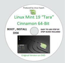 """Linux Mint 19 """"Tara"""" Cinnamon 64-BIT (LATEST VERSION) + Install & User G... - $6.63"""