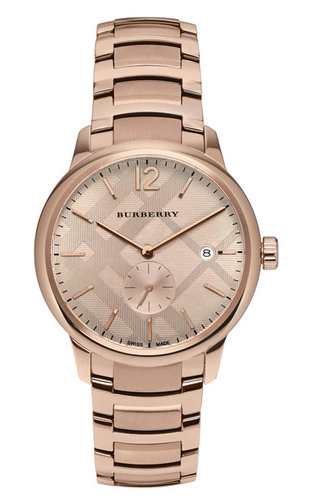 Burberry bu10013 The Classic Round Unisex Watch - $604.99