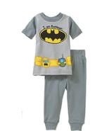 DC Comics Batman Toddler Boys 2pc Pajama Set Size 24 Months NWT - $11.99