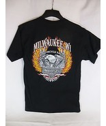 2003 Milwaukee Motorcycle Rally Tshirt Harley Davidson Size M - $19.79