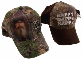 Realtree Duck Dynasty Camo Outdoor Baseball Cap Hat Lot 2 Happy Hey Homi... - $8.99