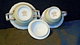 Noritake China Japan Goldora 882 Cream and Sugar with lid AA20-2140 Vintage image 6