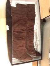 Carlos by Carlos Santana Women's Caress Knee High Fashion Boots Brown Size 9 M - $43.95