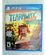 PlayStation PS4 Video GAME - TEARAWAY UNFOLDED Crafted Edition - $9.50