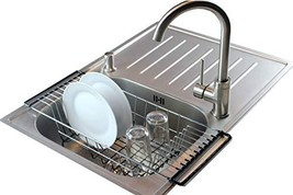 Neat-O Over-The-Sink Kitchen Dish Drainer Rack, Durable Chrome-plated St... - $19.63
