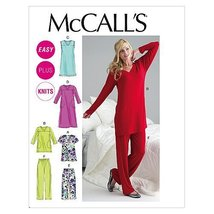 McCall's Patterns M6474 Misses'/Women's Top, Tunic, Gowns and Pants, Size B5 (8- - $14.21