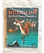 RUDOLPH THE RED-NOSED REINDEER / A LITTLE GOLDEN BOOK / 1976 EDITION - $10.00