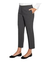 Mario Serrani Italy Women's Tummy Control Stretch Grey Plaid Pants  Sz 1... - $14.79