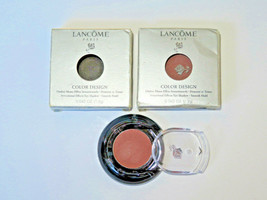 2 LANCOME COLOR DESIGN EYESHADOW PALETTE-CASHMERE-0.42 OZ EA / 0.84 OZ ...-$ 14.84
