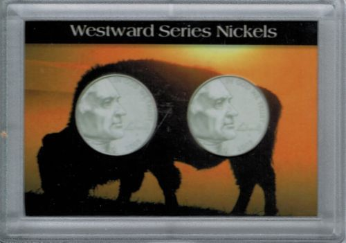 H.E. Harris & Co Westward Journey Nickel Series Frosty Case 2X3