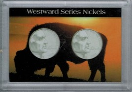 H.E. Harris & Co Westward Journey Nickel Series Frosty Case 2X3  - $4.68