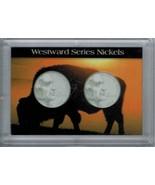H.E. Harris & Co Westward Journey Nickel Series Frosty Case 2X3  - $4.68