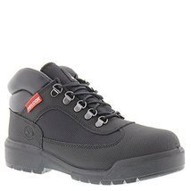Timberland Field Boot Mens Black Leather/Canvas Hiking Boots Shoes 7 - $2.629,99 MXN